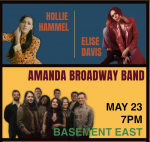 AMANDA BROADWAY BAND, ELISE DAVIS, HOLLIE HAMMEL