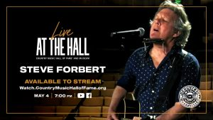 Live At The Hall: Steve Forbert