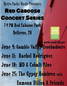 Red Caboose Concert Series