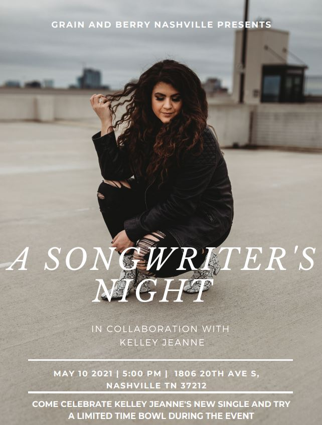 A Songwriter's Night with Kelley Jeanne