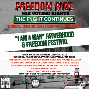 Freedom Ride for Voting Rights Tour