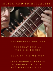 Music and Spirituality: Live Concert and Talk