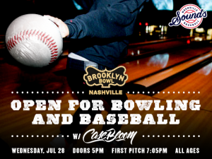 Open for Bowling and Baseball with DJ Case Bloom