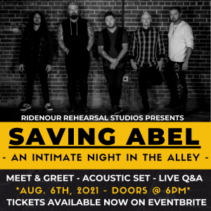 Saving Abel - An Intimate Event in The Alley
