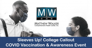 Sleeves Up! College Callout COVID Vaccination &amp...