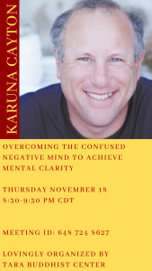 Overcoming the Confused Negative Mind to Achieve M...