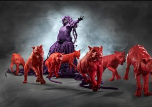 Mary Sibande: Blue Purple Red