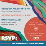 The 100-Day Project Art Show