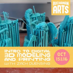 Intro to 3-D Printing Workshop