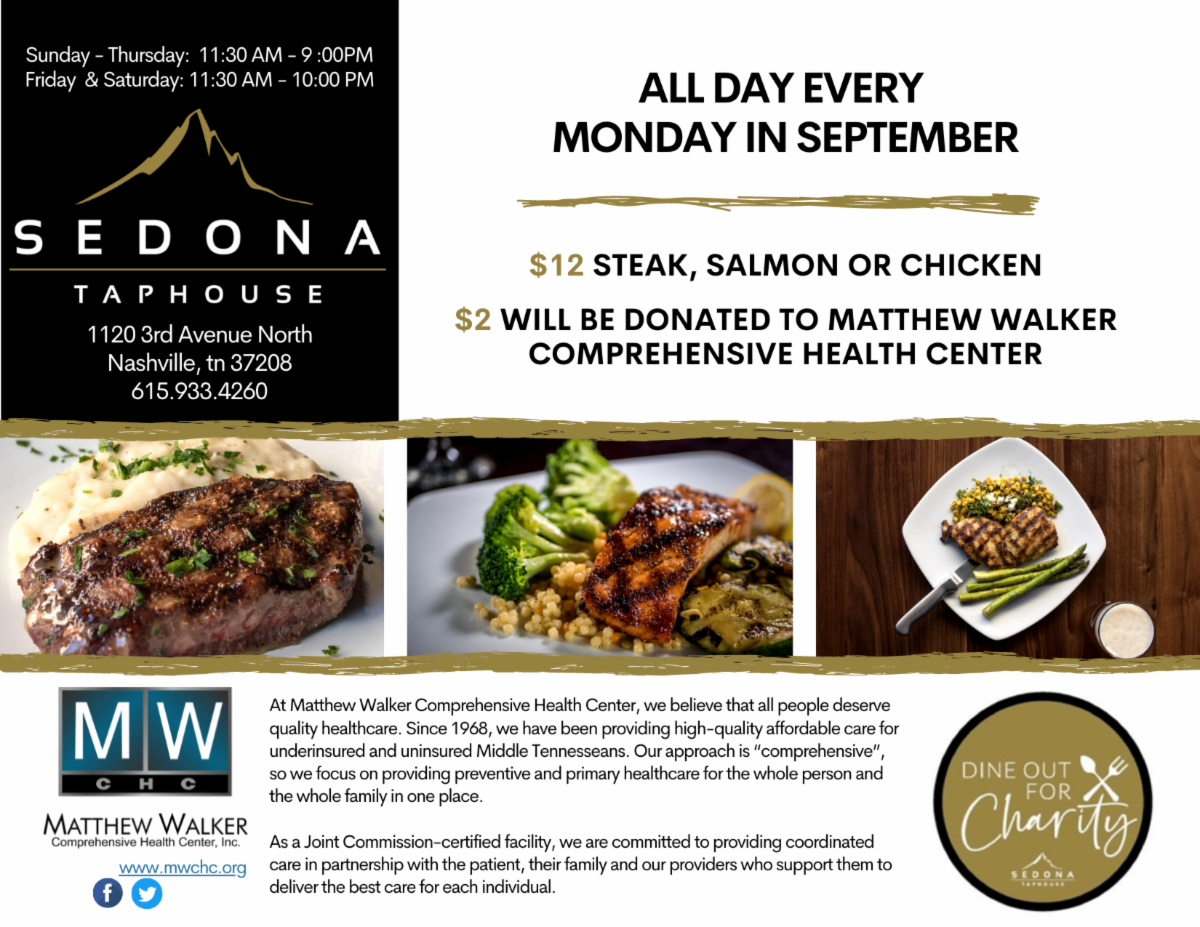 Dine Out for Charity
