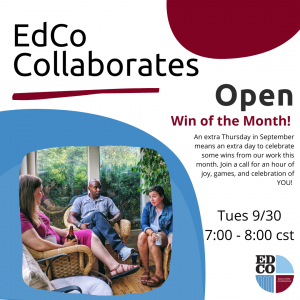 Collaborates Call: Open -  Win of the Month