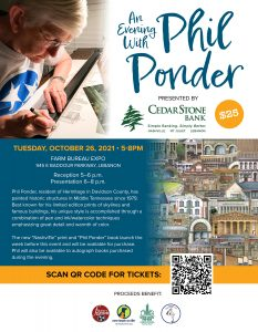 An Evening with Phil Ponder