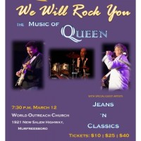 We Will Rock You: The Music of Queen