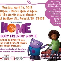 Sensory Friendly Movie for Children & Adults with Special Needs