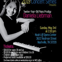 12 year old piano prodigy Daniela Liebman