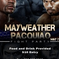ULYPMT's Mayweather vs. Pacquiao Fight Party!