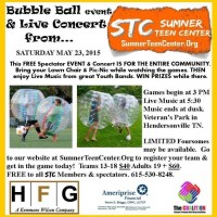 Bubble Ball  Tourney and Concert