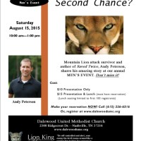 Andy Peterson: Are You Ready for a Second Chance?