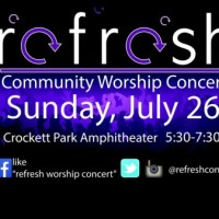 2nd Annual Refresh Worship Concert