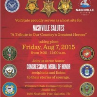 """Nashville Salutes """" A tribute to our country's greatest heroes"""""""