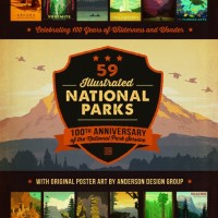 59 Illustrated National Parks Book Release