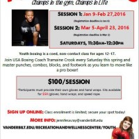 Youth Boxing Class