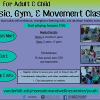 NEW Music & Movement Class for Child/Adult